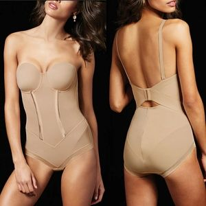 MAIDENFORM FLEXEES - easy up firm control bodysuit